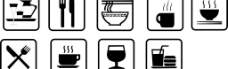 餐厅常用标示图片