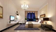 室内卧室设计表现图片