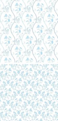欧式花边花纹底纹矢量图案图片
