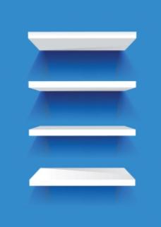 矢量空白展示宣传背景墙素材