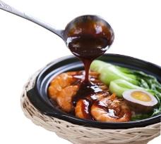鱼啦啦餐饮美食煲饭高清图图片