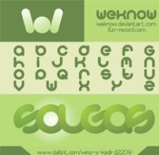 英文设计字体