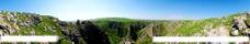 山谷全景图片
