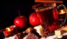苹果加巧克力鸡蛋卷图片