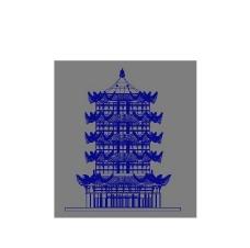 黄鹤楼3D模型图片