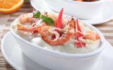 海鲜焗饭图片