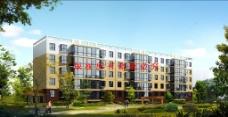 矮层住宅楼效果图图片