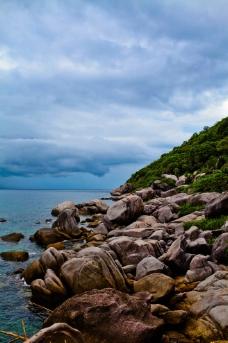 美丽 海角石滩图片