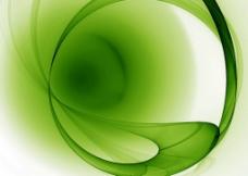 绿色渐变高光背景素材图片