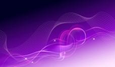 紫色流动渐变高光背景素材图片