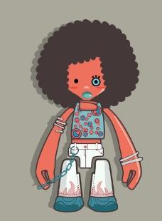 人物插画图片