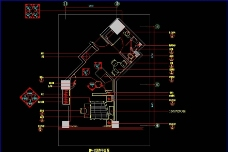 上海礼顿国际公寓B1 B2 1型样板间施工图图片