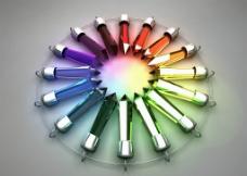 彩色水晶图片