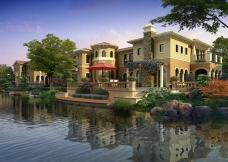 水岸边别墅花园洋房哪个