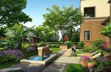 别墅花园洋房住宅房产广告
