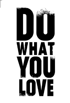 DO WHAT YOU LOVE海报设计图片