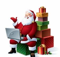 圣诞老人礼盒图片