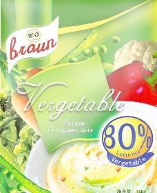 蔬菜羹包装图片