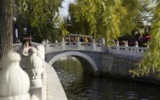 什刹海银锭桥图片