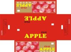 苹果包装箱图片