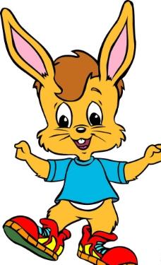 卡通 兔子图片