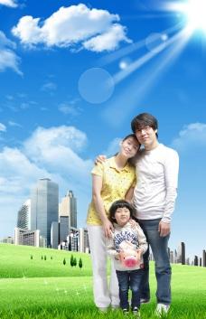 和谐家庭图片