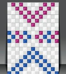 像素格子背景图片