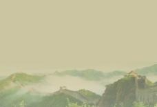 长城背景图片