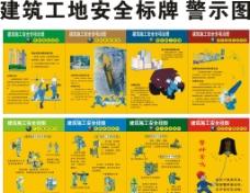 建筑工地安全警示标牌图片