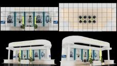 展览模型 3d设计模型 展示模型图片