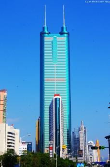城市楼景 深圳地王图片