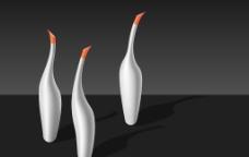 天鹅型系列香水瓶图片