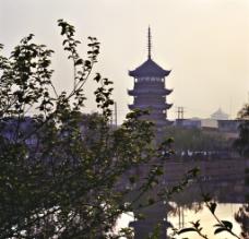 塔楼景观图片