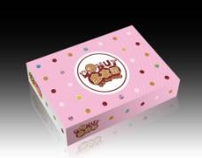 甜甜圈包装 (平面图)图片