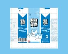 牛奶包装图片