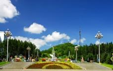 七台河市桃山公园图片