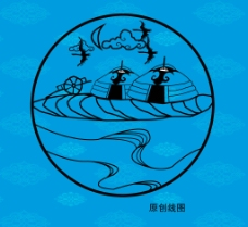 蒙古包矢量图图片