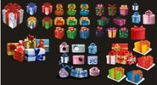礼品盒 矢量图片