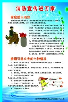 消防宣传展板图片