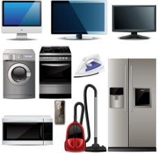矢量日常家用电器图片素材