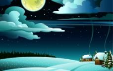 夜晚的星空图片