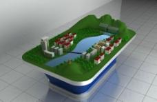 建筑沙盘图片