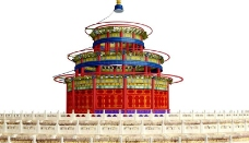 故宫天坛图片