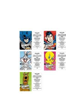 蝙蝠侠 超人 兔子 鸭子 狗狗标签图片