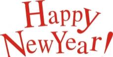 新年快乐英文字母组合图片