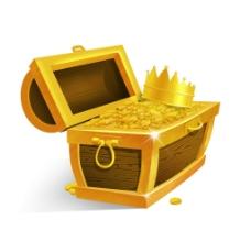 黃金寶箱圖片