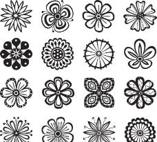 花纹花卉图片