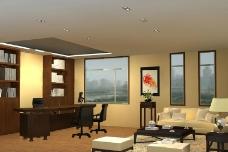 辦公室模型圖片