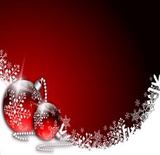 经典圣诞红色背景