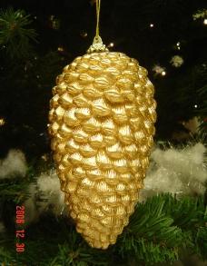 金色松果图片